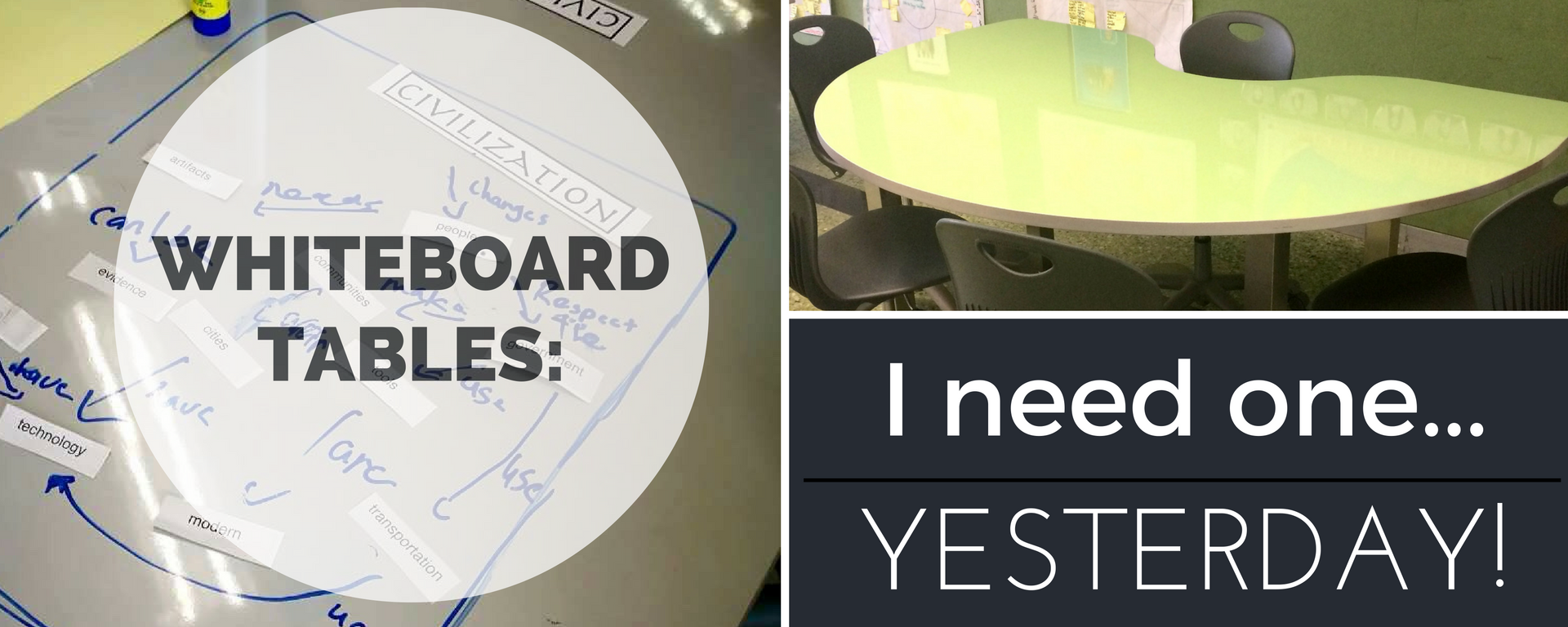 Whiteboard Tables: I Need One… Yesterday!